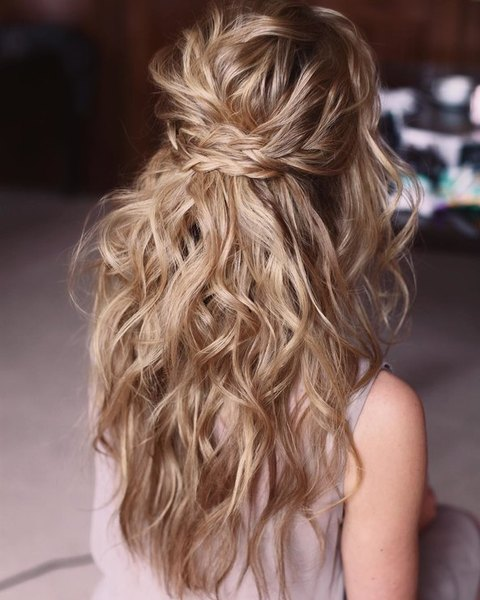 weddong hairstyle free strands