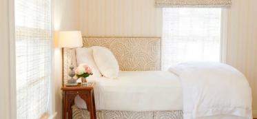 bed linen in bedroom