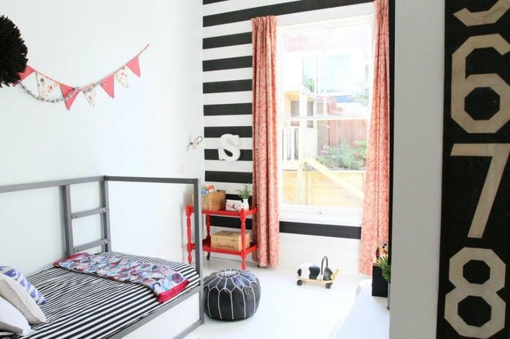 simple lines bedroom