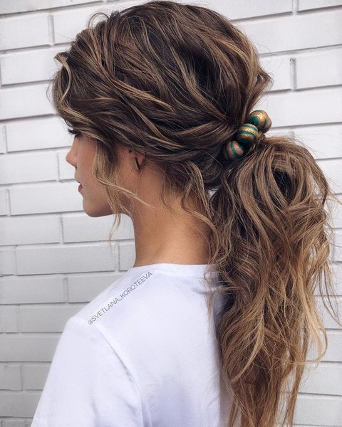 wedding hairstyle you can use it in everyday life
