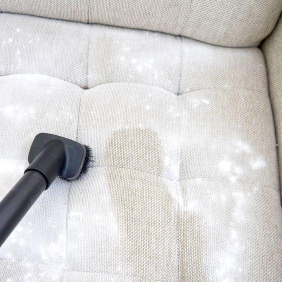 Sofa vacuum cleaning