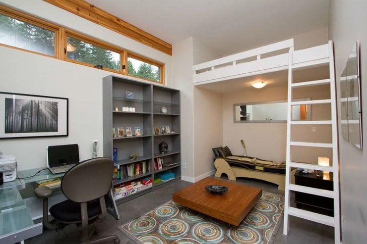 bed entresol small bedroom