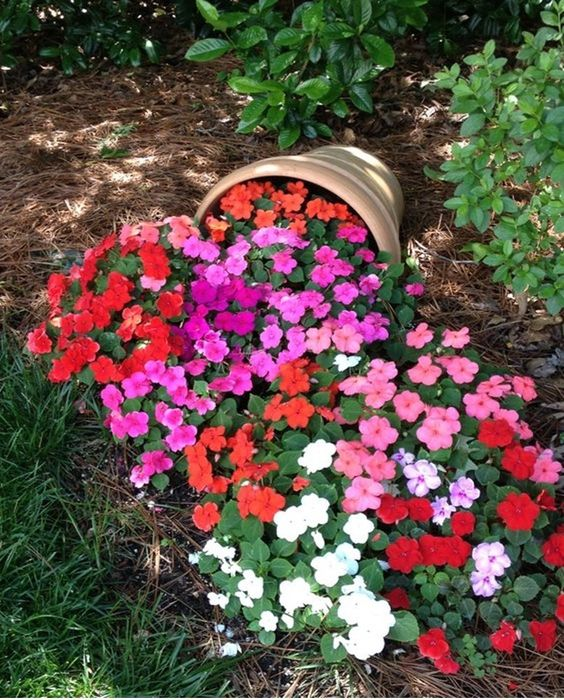 garden decor ideas flowers