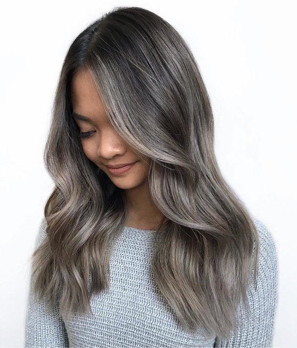 black ash color cool dye this year