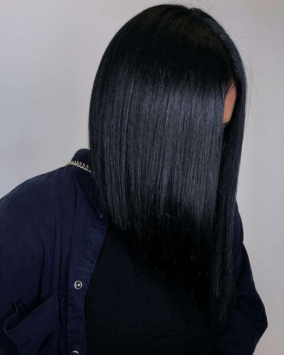 black gold hair coloring