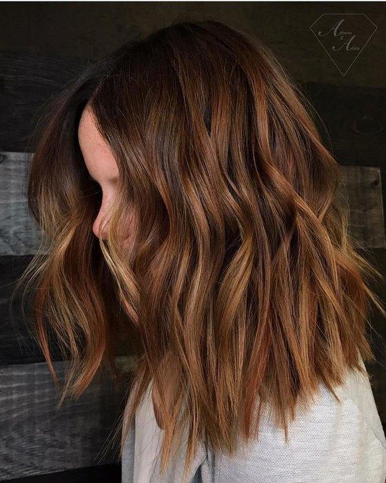 chokolate copper cool hair color this year