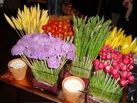cool veggies decoration ideas