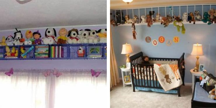 how to organize a toy room