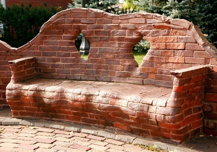 old bricks furniture