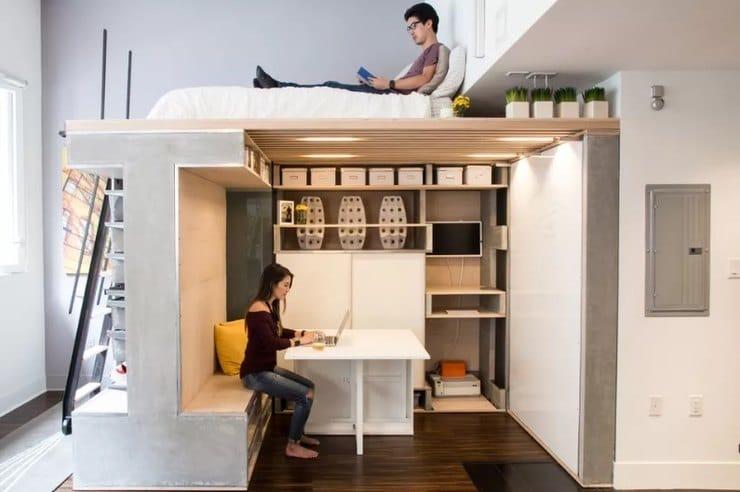 storage ideas for small studio apartment