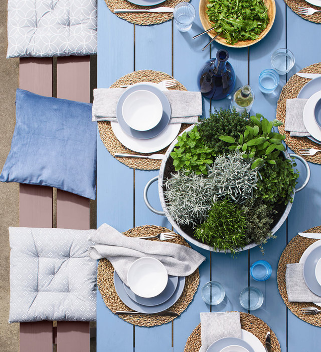 summer table decoration