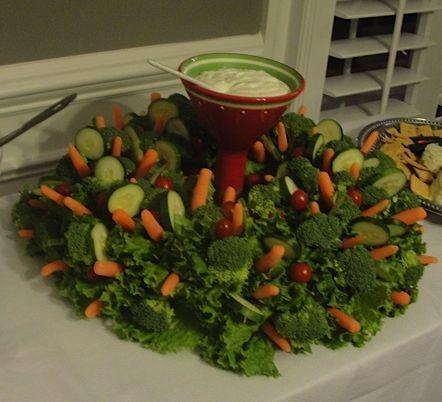 veggie serving decor idea