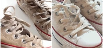 how to wash sneakers