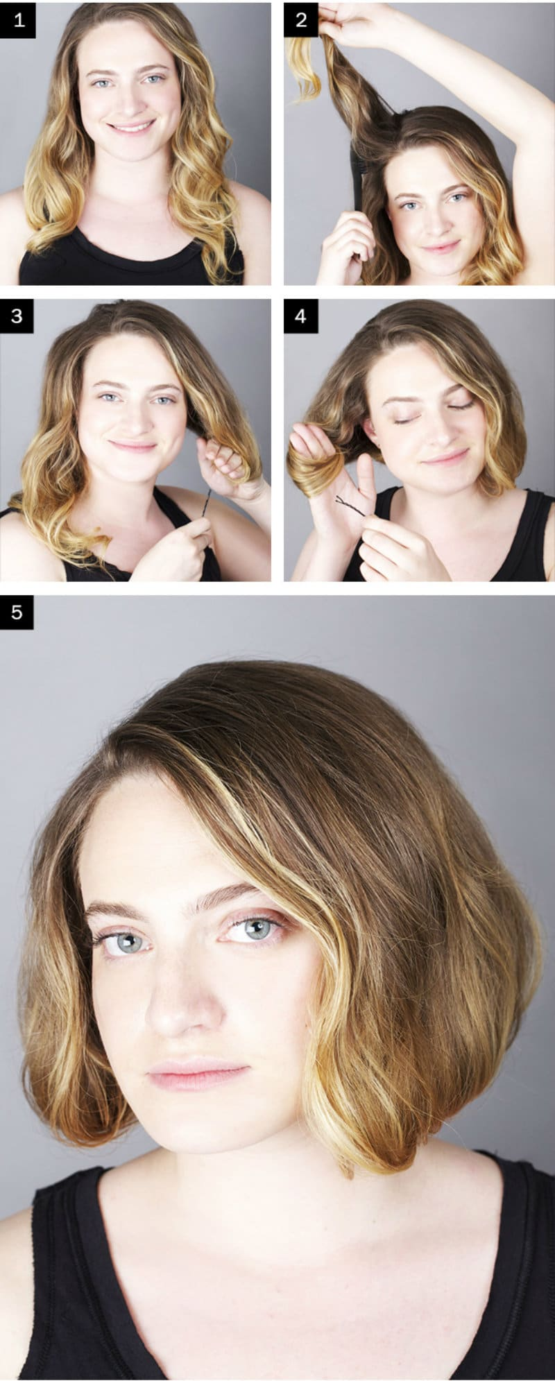 How To Make Your Hair Look Shorter Make Long Hair Look Short
