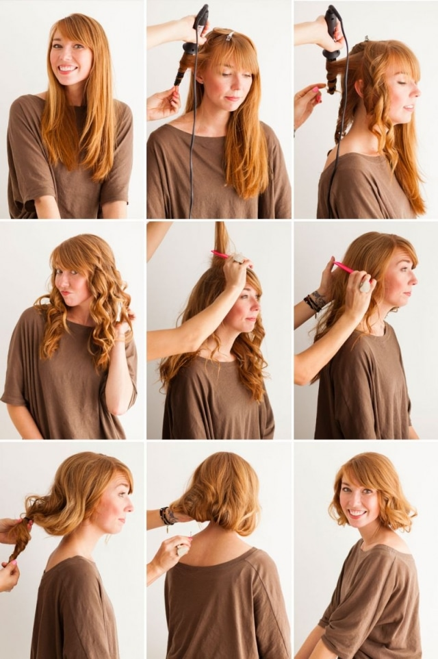How to make your hair look shorter