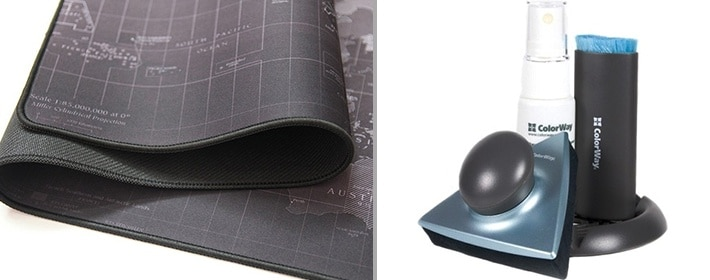 How to clean a mouse pad from unusual materials