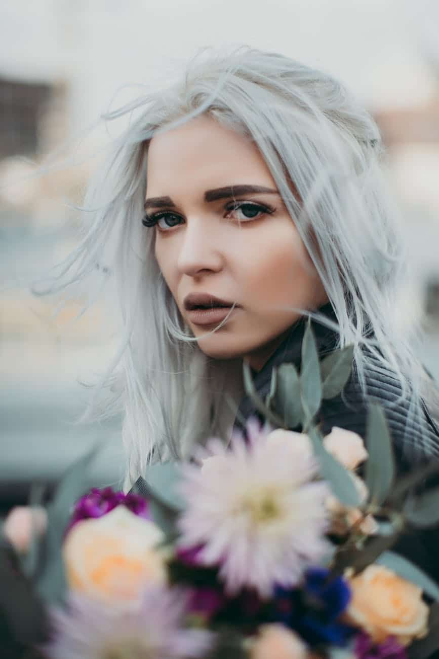 permanent hair color grey hair