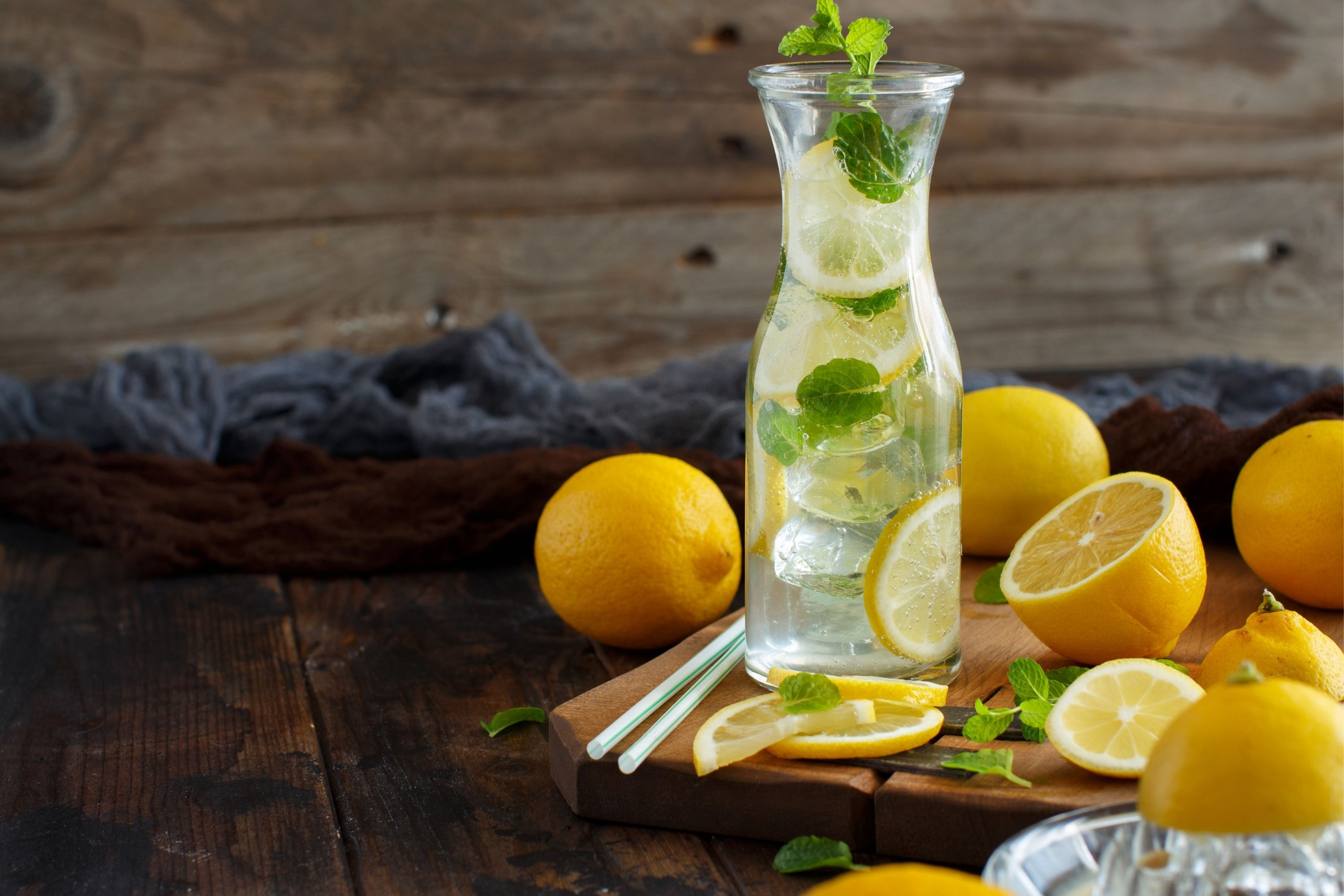 How many spoonfuls of citrus drink in a lemon