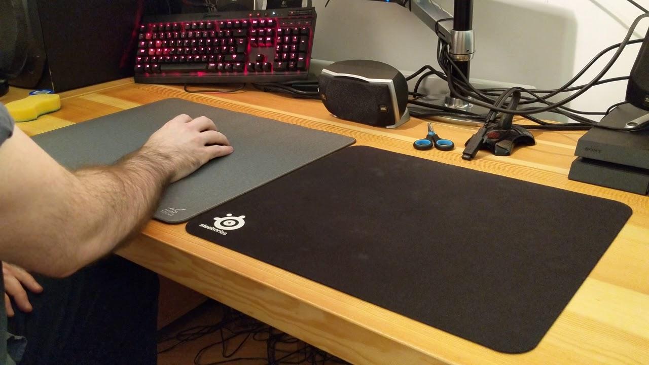 artisan mousepad size