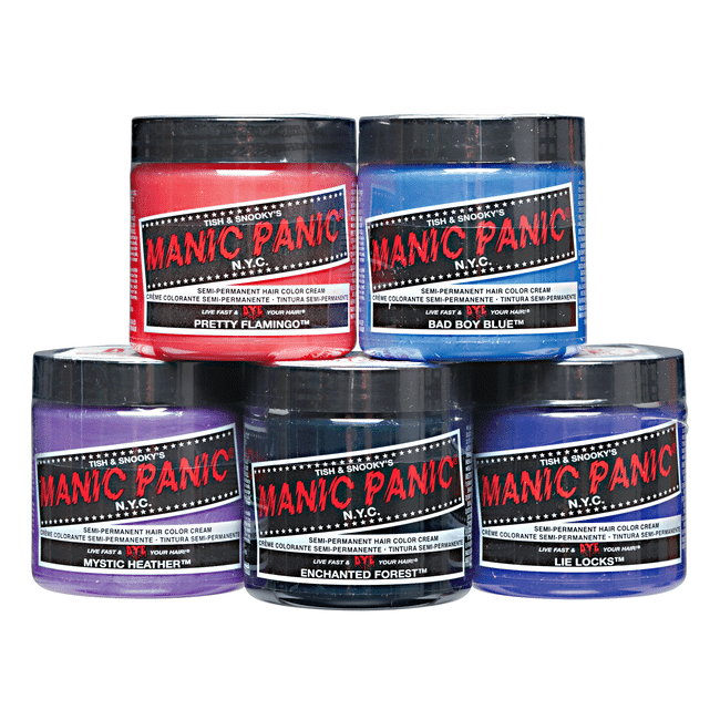 Can you dye synthetic hair with manic panic