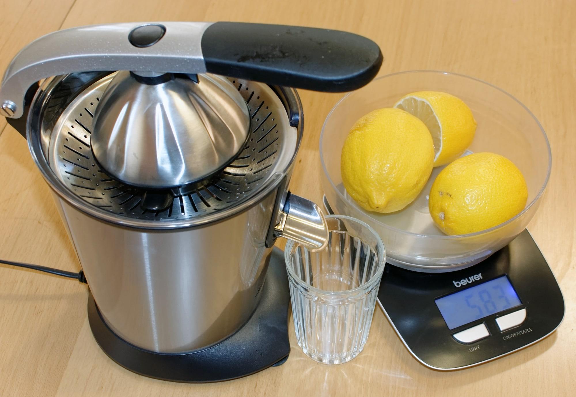 how much lemon juice is in 1 lemon