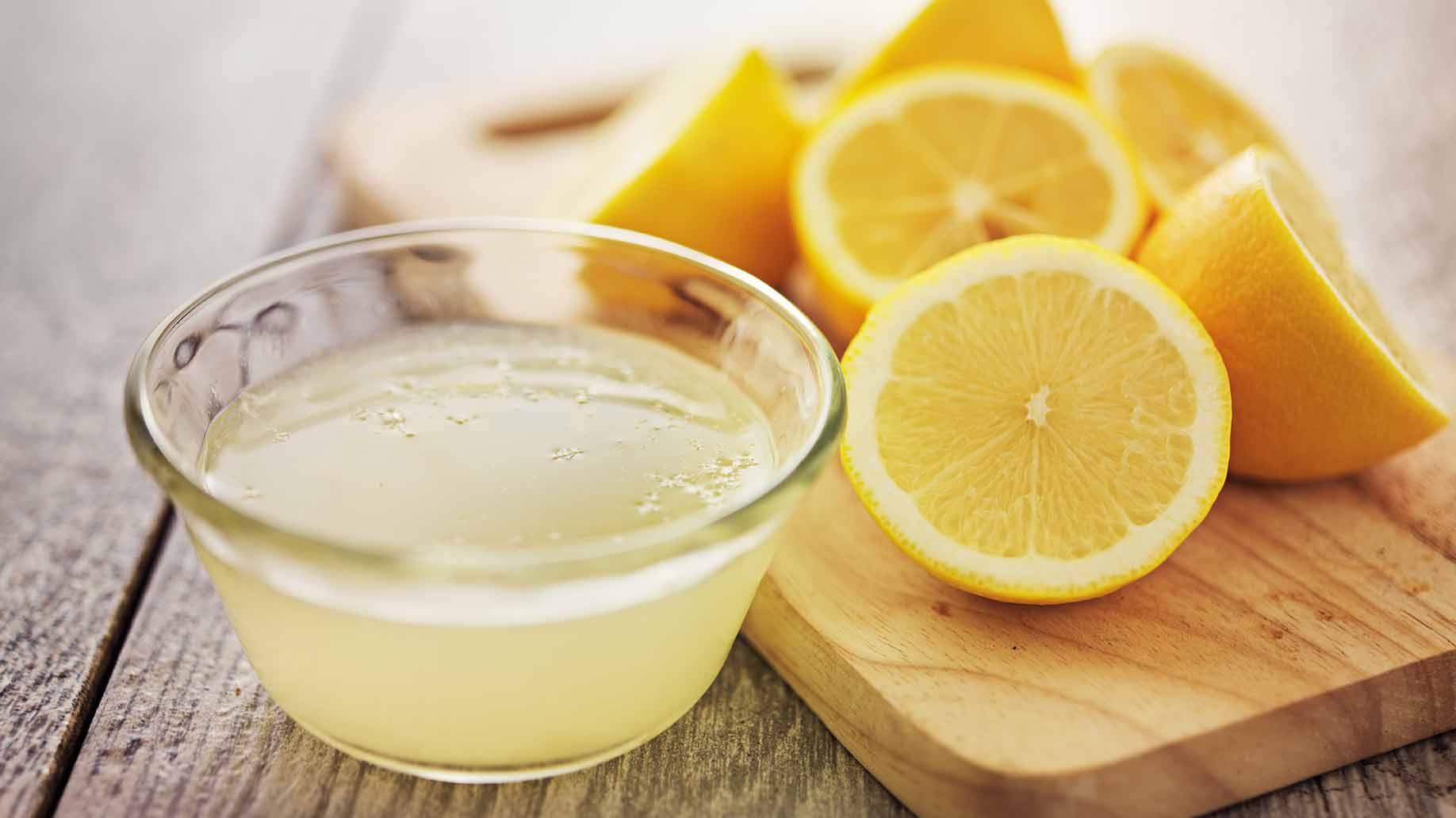 juice of 1 lemon in tbsp