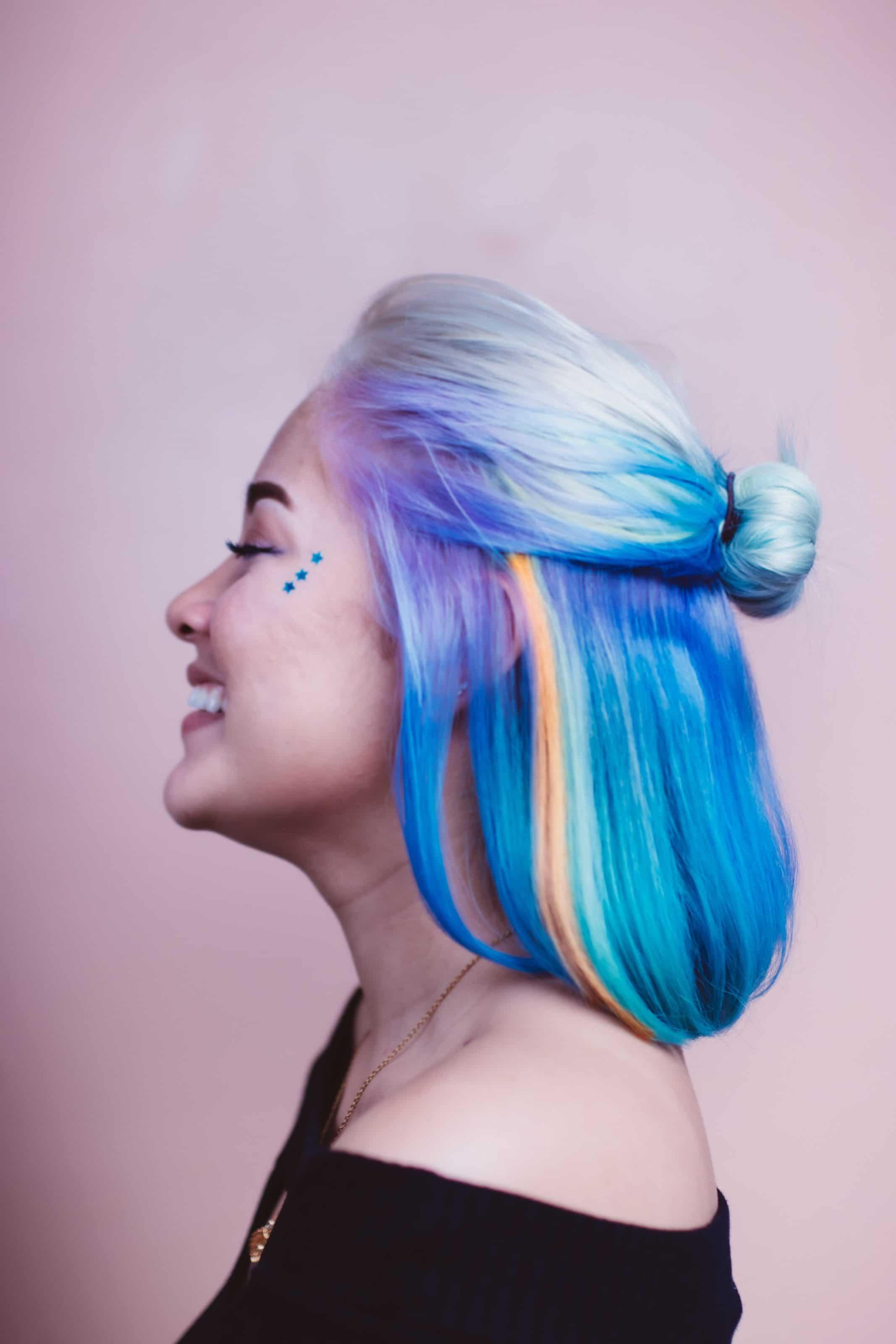 hair dye at home