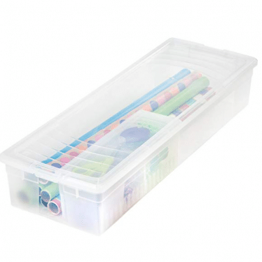 Wrapping Paper and Ribbon Storage Box
