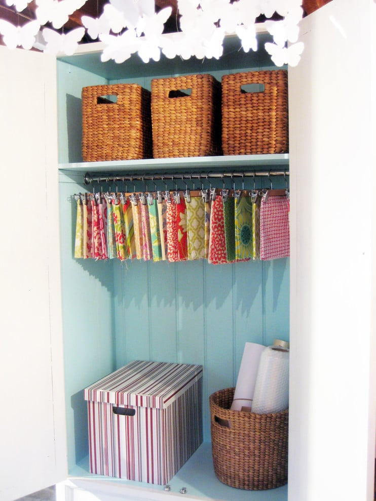 wrapping paper folders organization