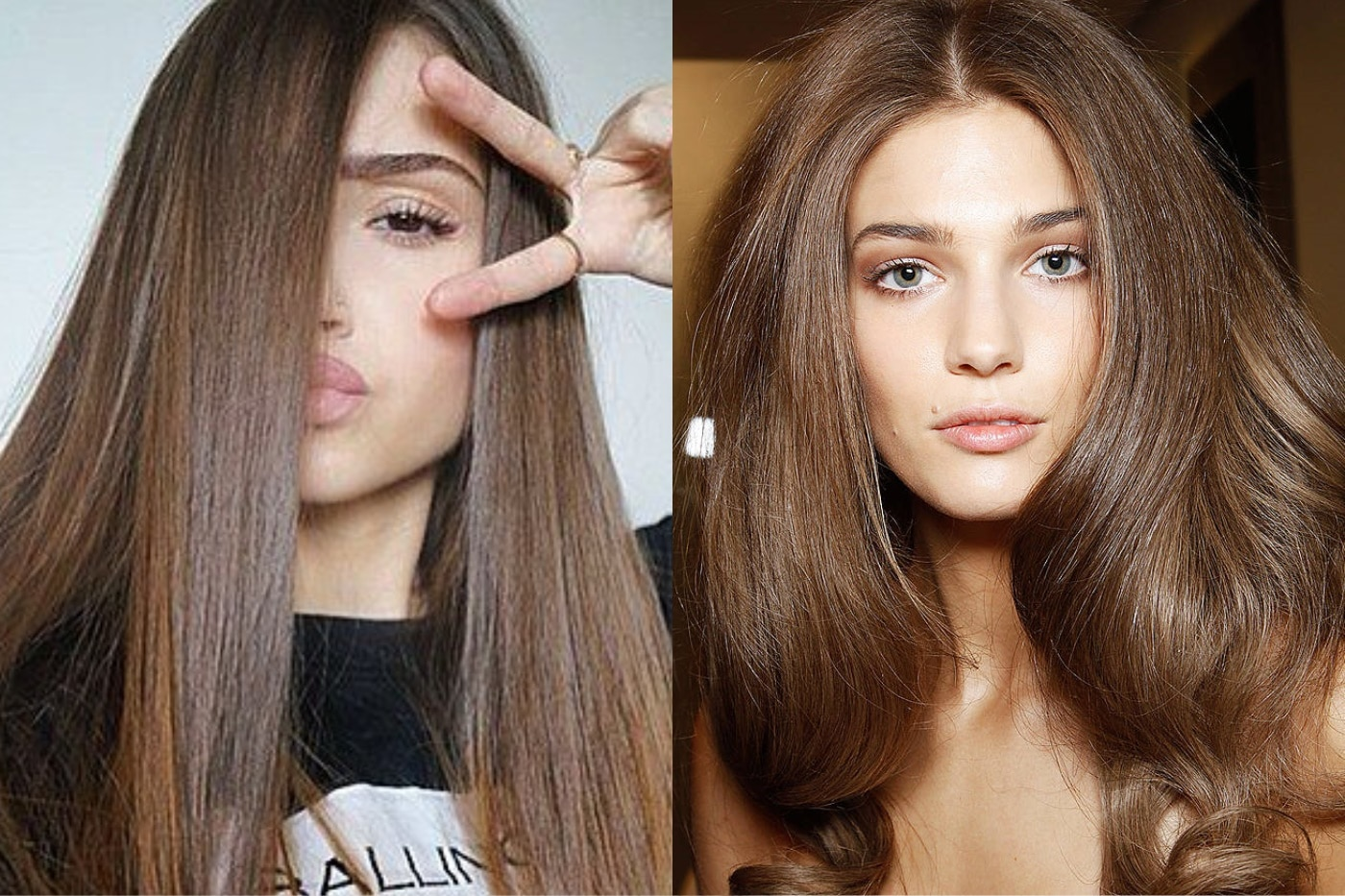 process of coloring hair