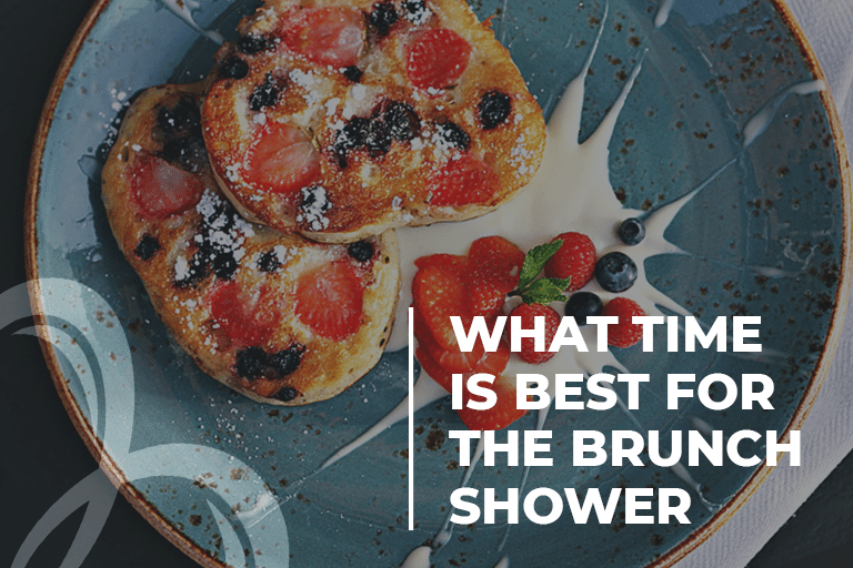 What time is best for the brunch shower