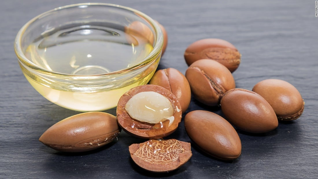 Can argan oil be used for treating cracked heels