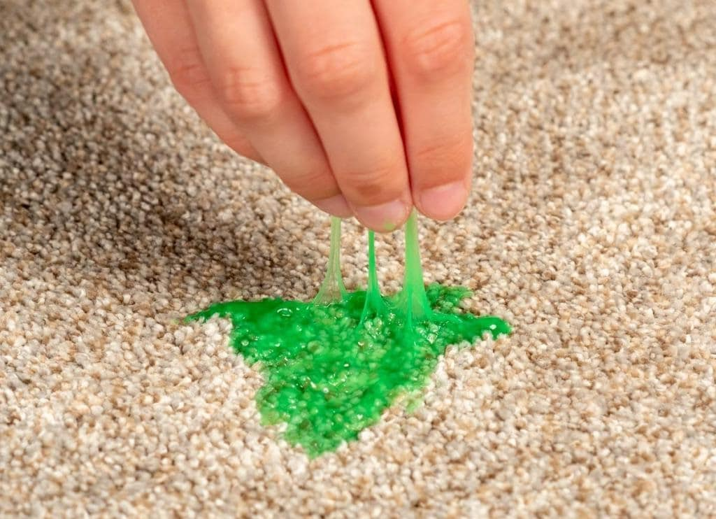 Remove Slime from Carpet