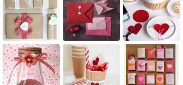 decorate valentine bags