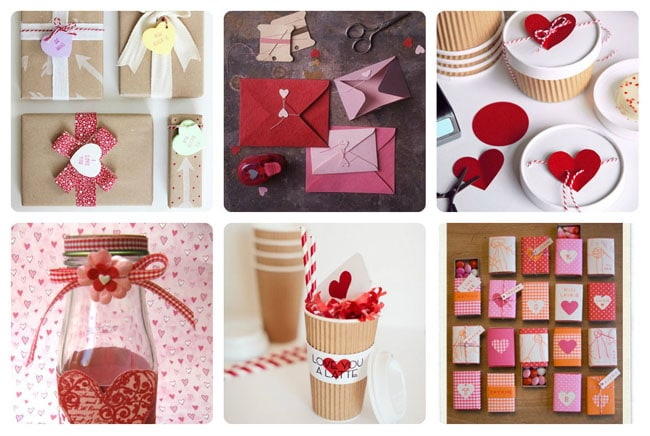 decorate valentine bags
