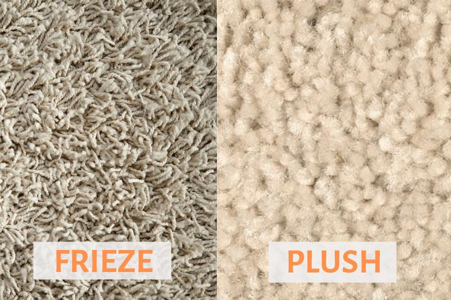 Frieze vs Plush