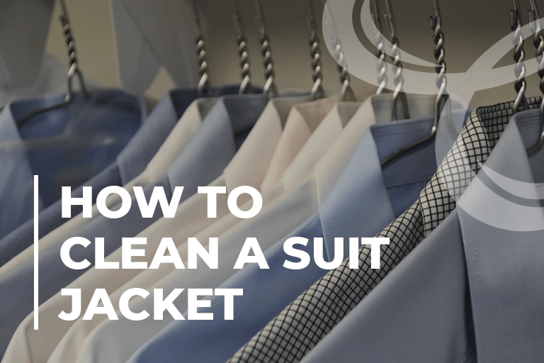 How to Clean a Suit Jacket