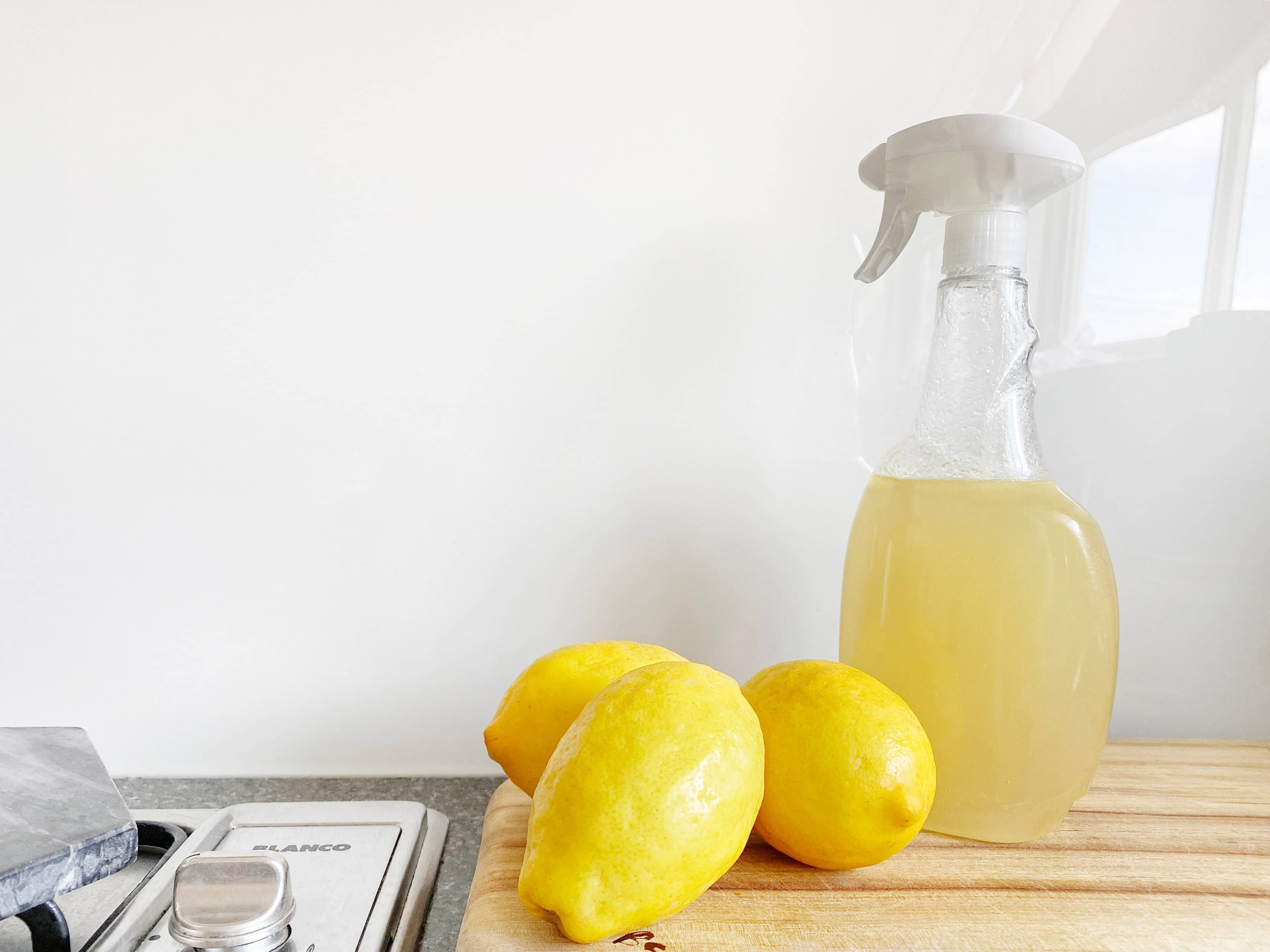 lemons cleaning solutions