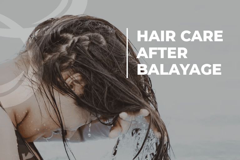 Hair Care after Balayage