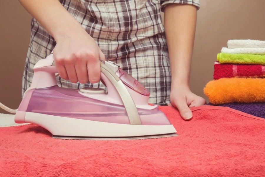 no ironing board