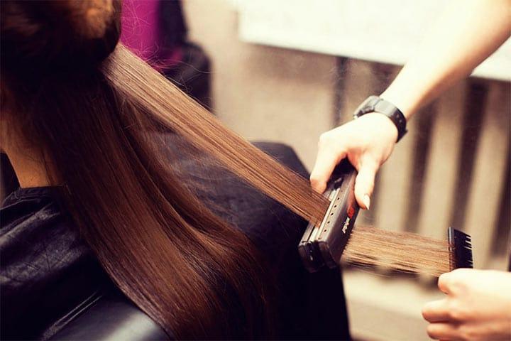 Silk Pressing Hair Methods