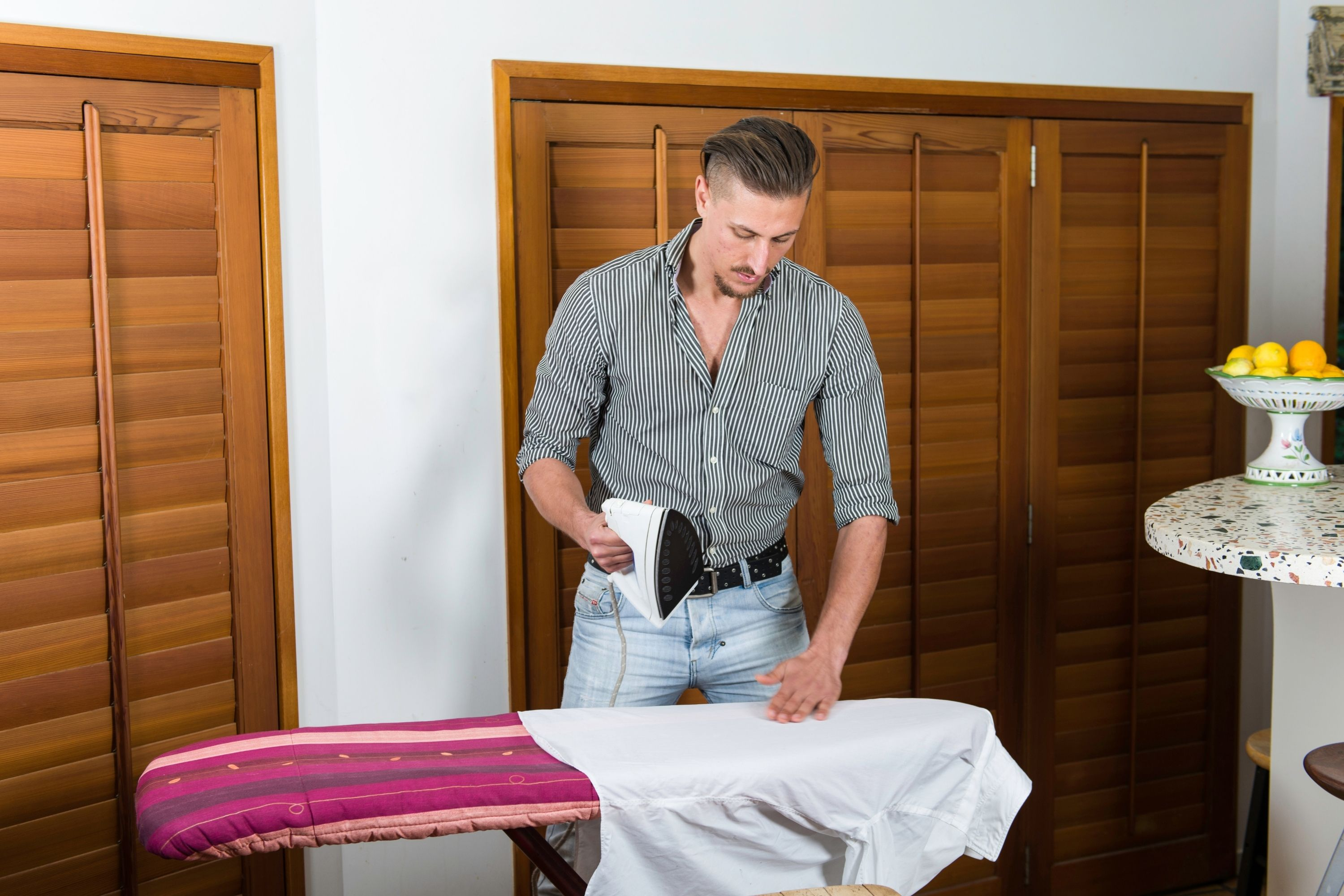 Can You Iron Polyester tips
