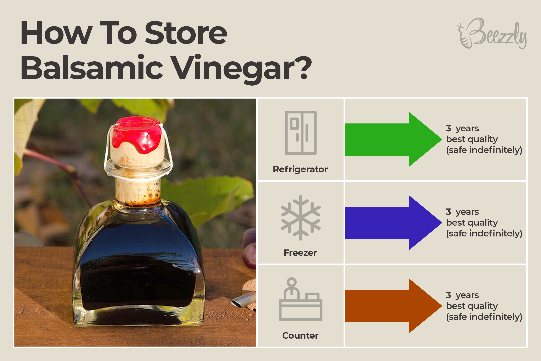 How to Store Balsamic Vinegar