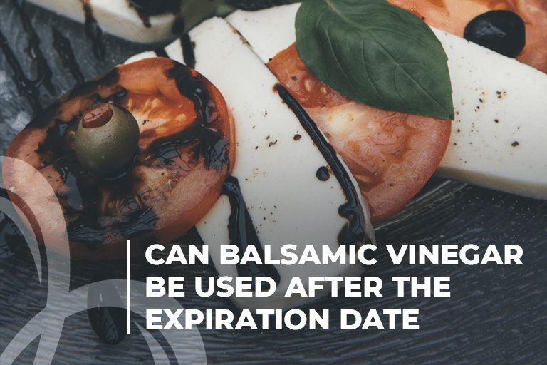 Can balsamic vinegar be used after the expiration date