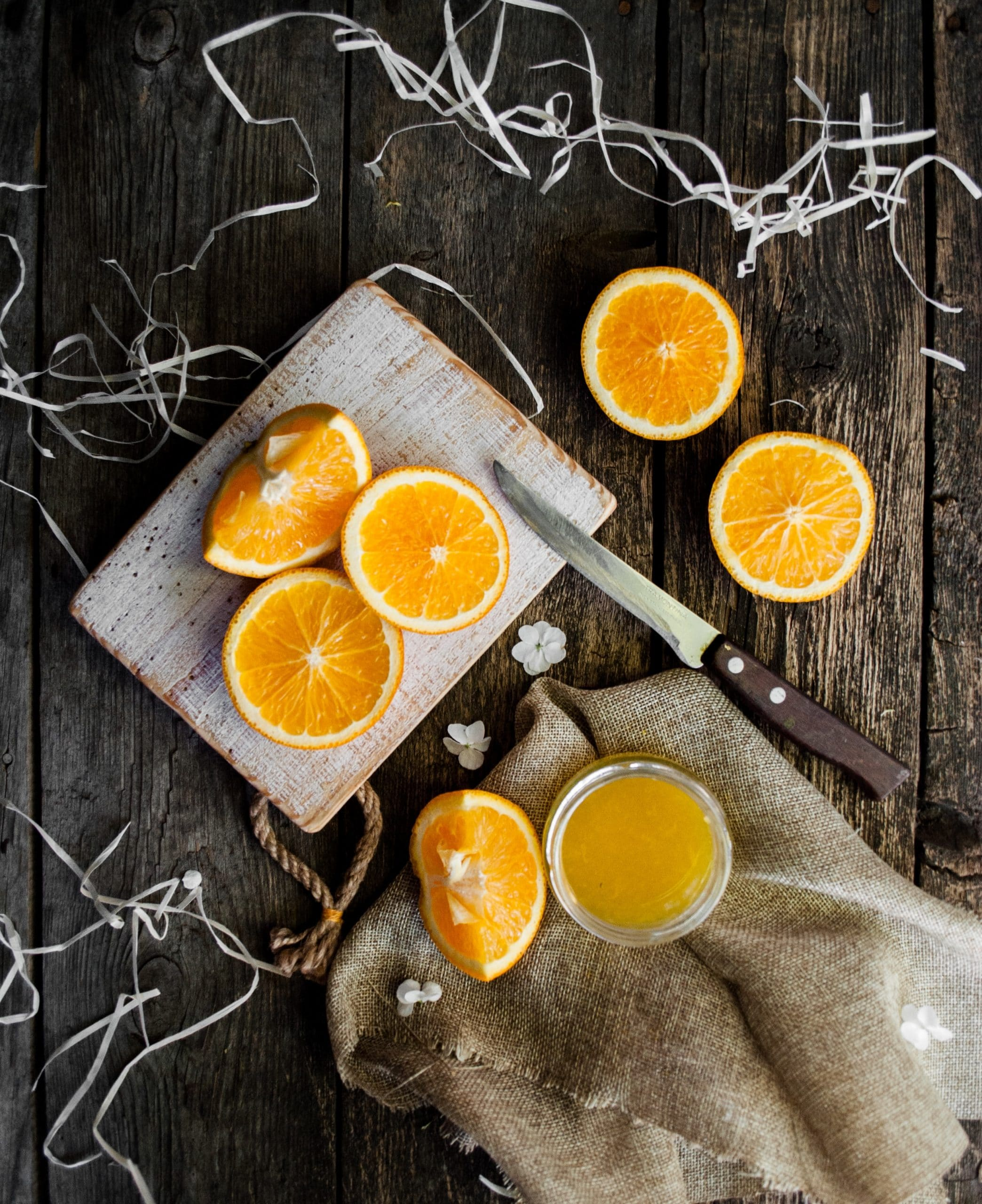 Can oranges be frozen