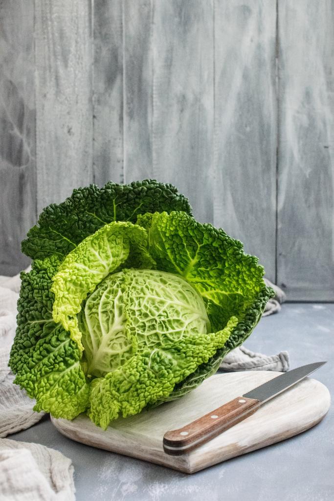 freezing cabbage without blanching