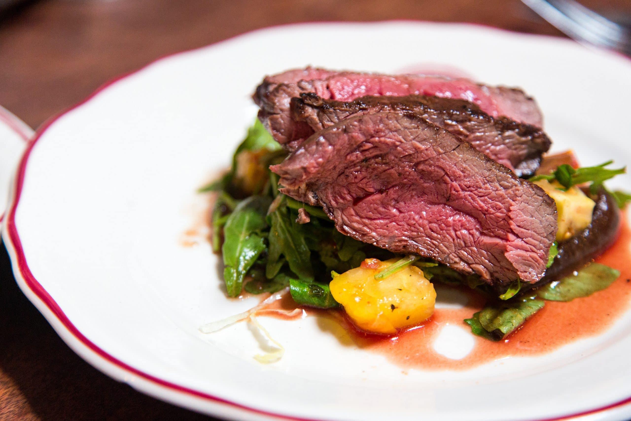 ground beef in fridge