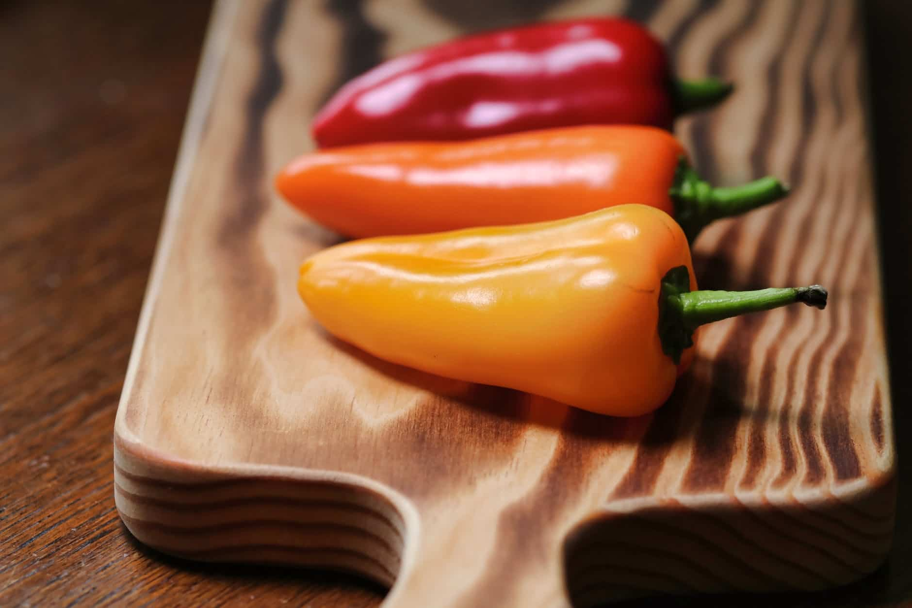 how long do bell peppers last in the fridge