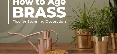 How to age brass