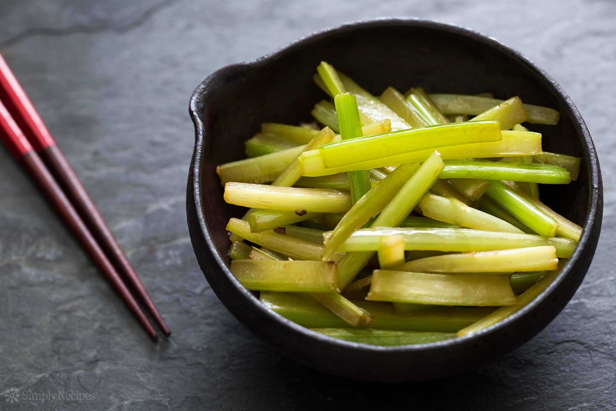 how to blanch celery